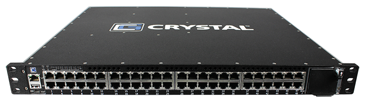 RCS7450-48 Rugged Crystal Switch