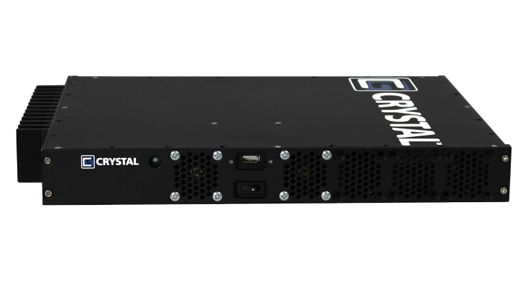 RE0813 Rugged Embedded Computer by Crystal Group - Front view