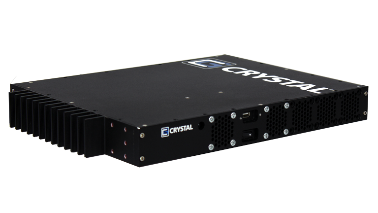 RE0813 Rugged Embedded Computer by Crystal Group - Front Left view