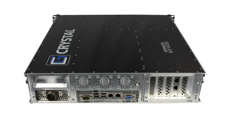 RS2616PS18 Rugged 2U Server, Rear View