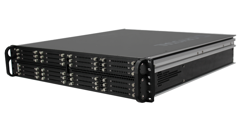 RS2616PS18 Rugged 2U Server, Front Right View