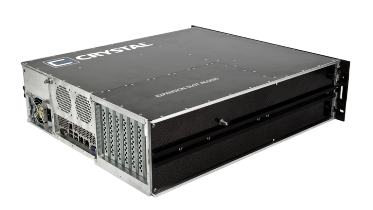 RS378P Rugged 3U Carbon Fiber Server, back right view