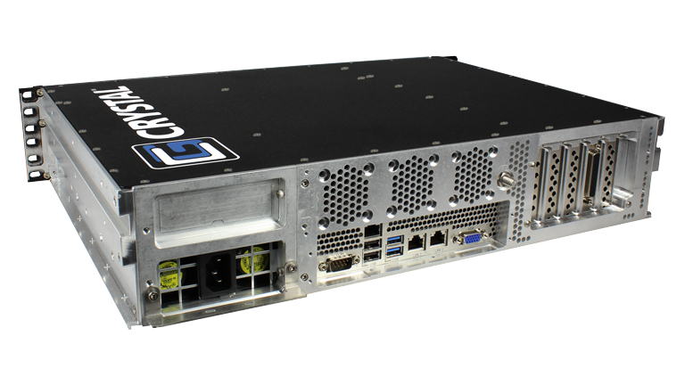 RS252S13 Rugged Rackmount 2U Server - Back left View