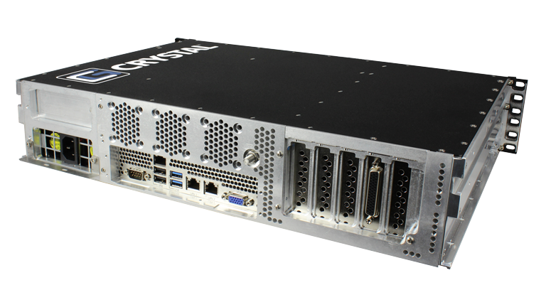 RS252S13 Rugged Rackmount 2U Server - Back Right View