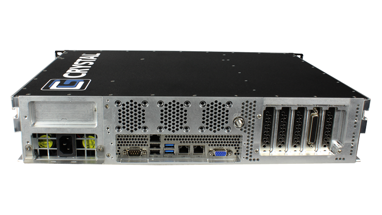 RS252S13 Rugged Rackmount 2U Server - Back View