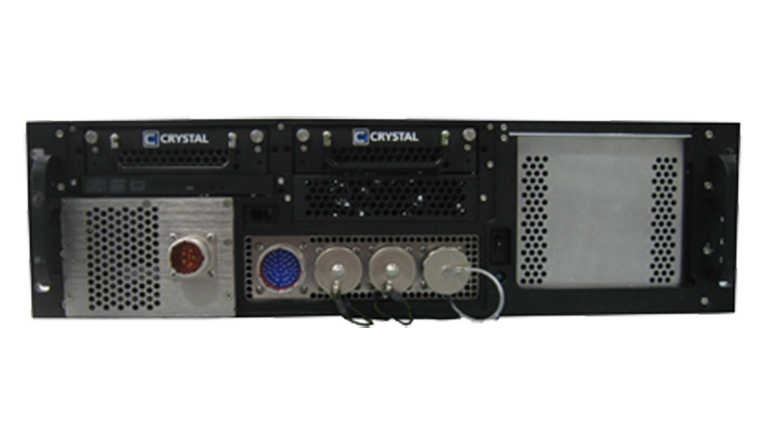 RS363S15FM Rugged 3U Rackmount Server - front view