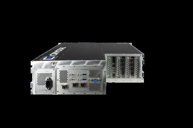 RS373S17M Rugged 3U Server, back