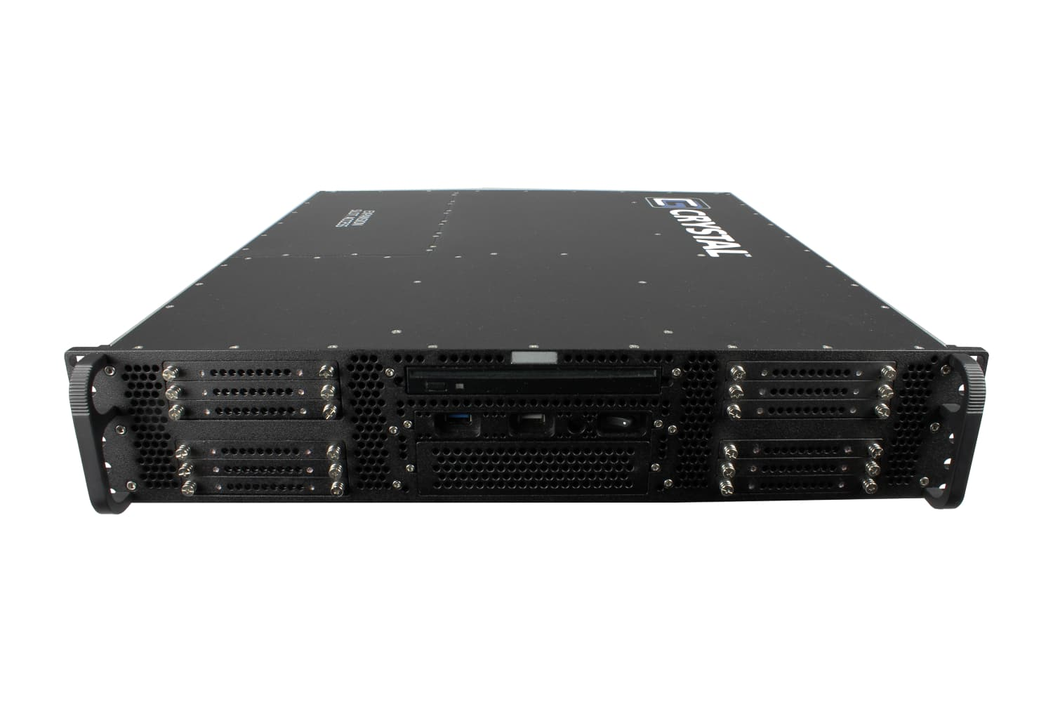 RS254 rugged rackmount 2u server, Front
