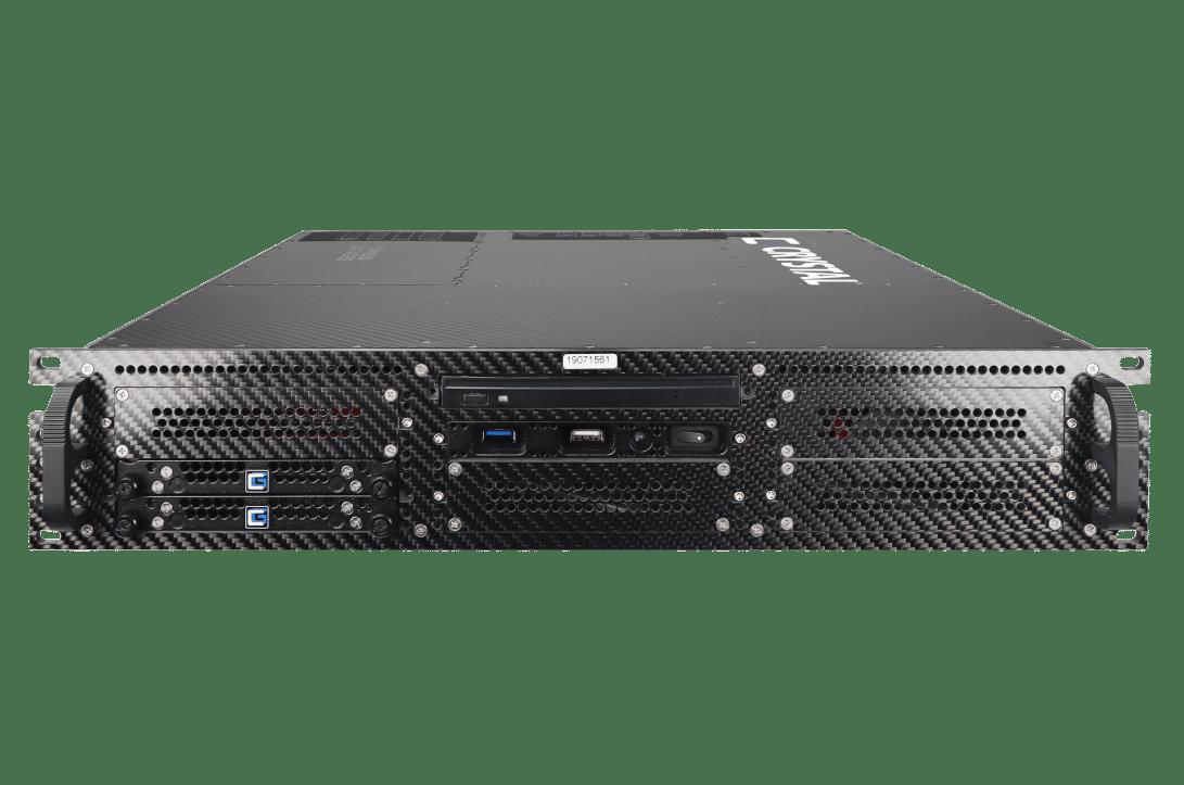 RS265P Rugged 2U Carbon Fiber Server