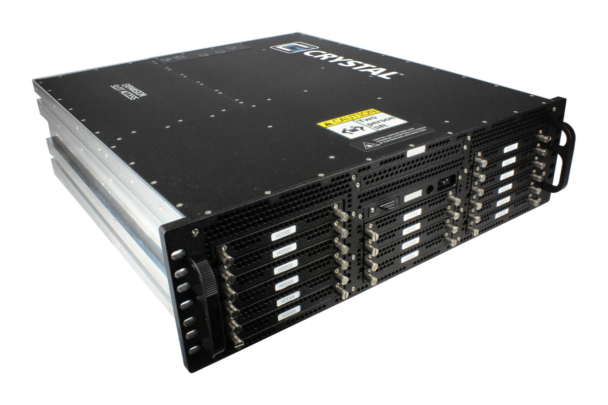 RSS38 Rugged 3U Storage System