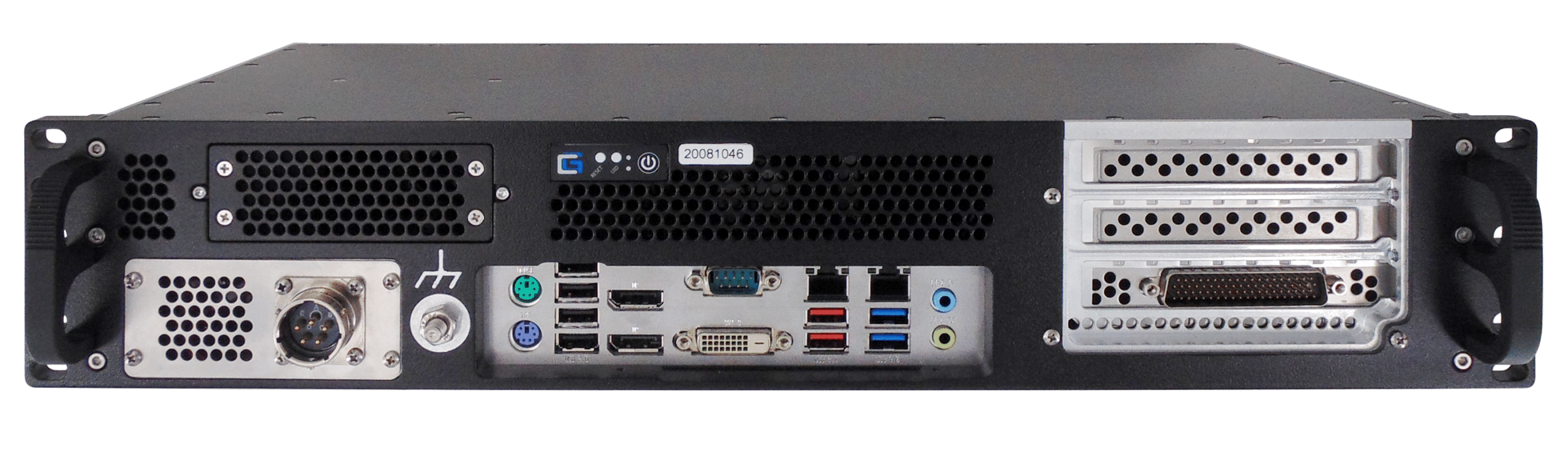 Crystal Group FORCE™ RS2301S8F Rugged 2U Workstation