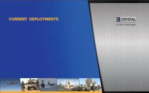 Current Deployments